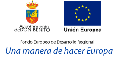 Fondos Europeos Ayuntamiento de Don Benito